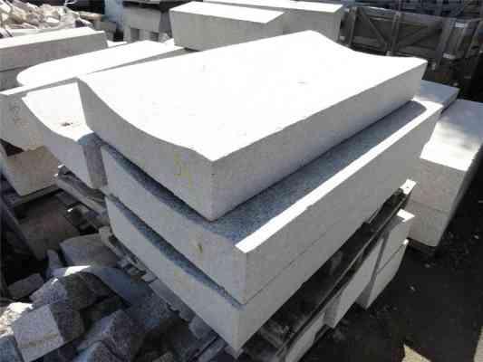 Caniveau granit gris CC2