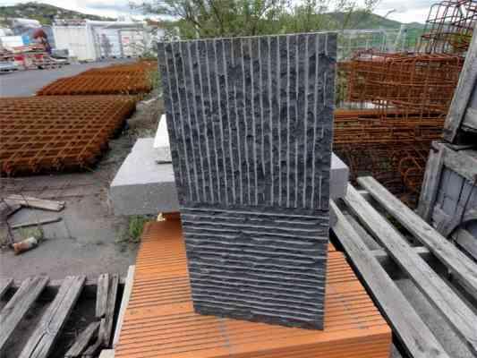 Dalles basalte layé ép. 8 cm