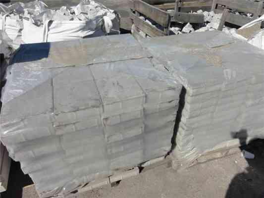 Dalles béton gris foncé 24x24 cm