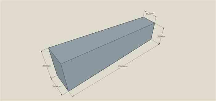 Bordures de transition granit gris 20x30 vers 15x20