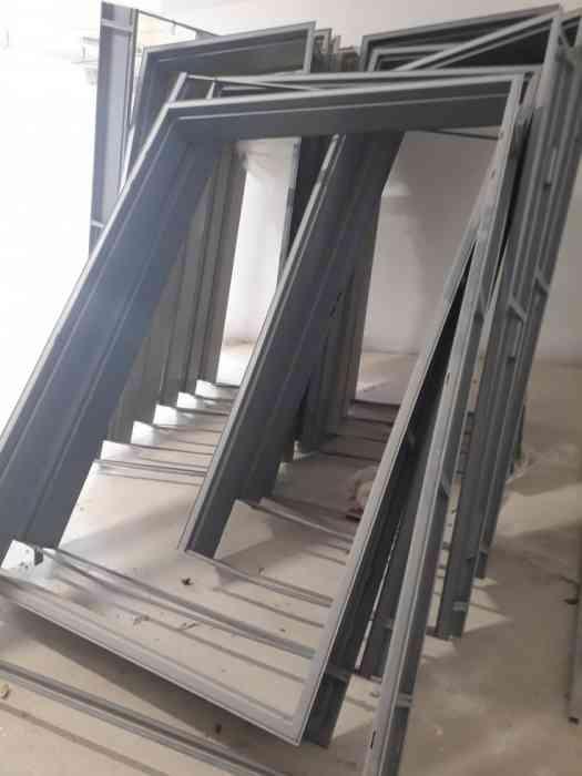 Huisserie métallique à bancher et pour maçonnerie KEYOR